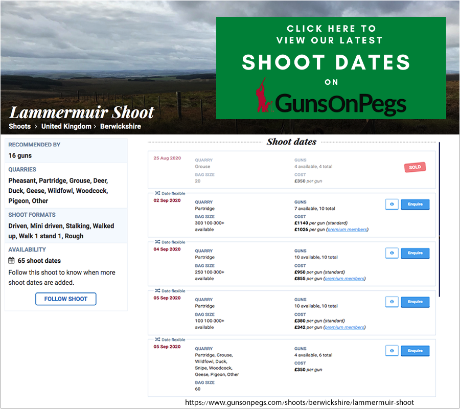 Click here to go to our shooting events